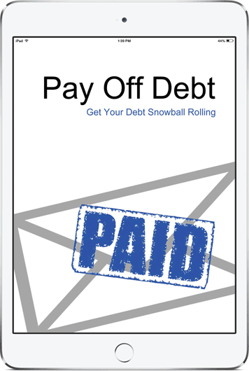 Pay Off Debt: Handy iPad app for paying off debt