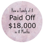 Paying Off $18,000 in 18 Months